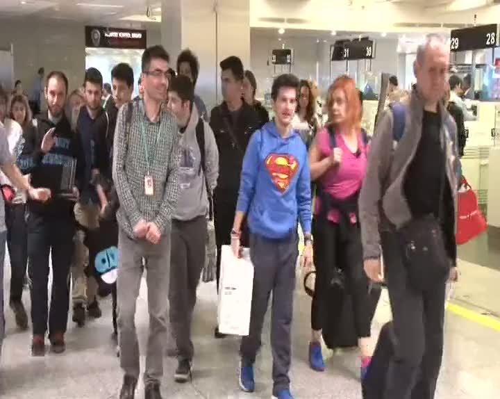 Türk öğrencileri Amerika'dan ödülle döndü