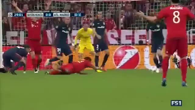 Bayern Münih: 2 - Atletico Madrid: 1