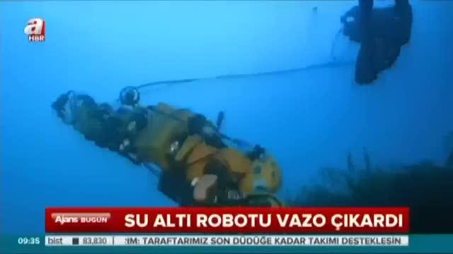 """""""İnsansız sualtı robotu"""" ilk görevinde"""