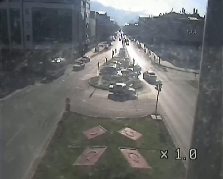 Erzincan'da trafik kazaları MOBESE'de