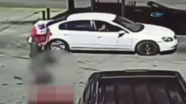 Benzincideki korkunç cinayet anı kamerada!