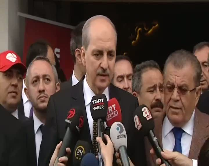 """Başbakan Yardımcısı Numan Kurtulmuş """"Türkiye samimi olduğunu ortaya koymuştur"""""""