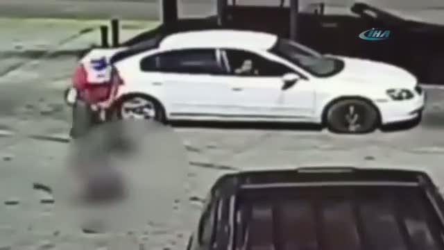 Benzinlikte korkunç infaz!