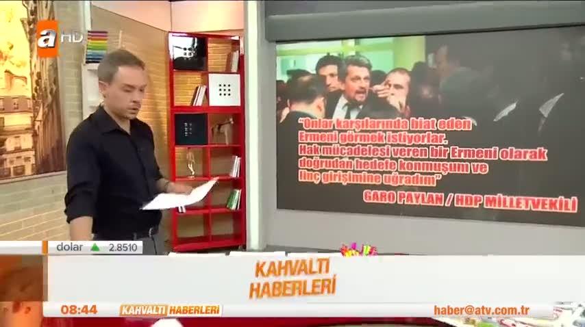 """Canlı yayında HDP'li vekile seslendi """"Masaların üzerinde geziyordunuz!"""""""
