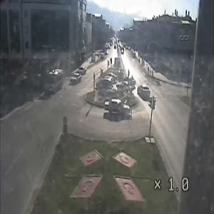 İbretlik trafik kazaları MOBESE kameralarında!