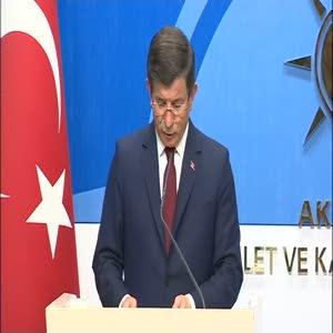 """Başbakan Ahmet Davutoğlu; """"22 Mayıs'ta yapılacak kongrede aday olmayı düşünmüyorum"""""""