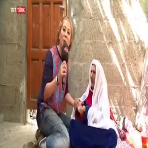 100 yaşındaki Filistinli teyzenin Osmanlı özlemi!
