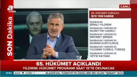 Gazeteci Yazar Ekrem Kızıltaş yeni kabineyi değerlendirdi