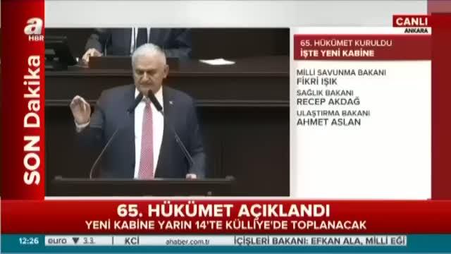 Binali Yıldırım'dan terör örgütü PKK'ya sert mesaj!