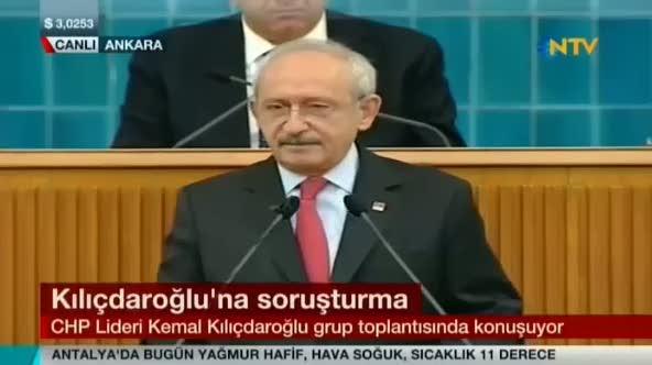 """CHP'li Kılıçdaroğlu """"Allah'tan korkmayan biz cesaret ederiz"""""""