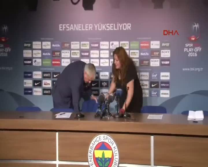 Fenerbahçe - Galatasaray Odeabank maçının ardından