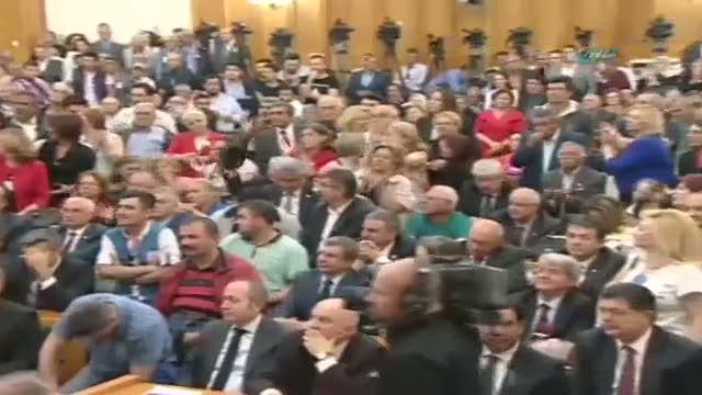 CHP Grup Toplantısındaki skandal sloganlara dava!
