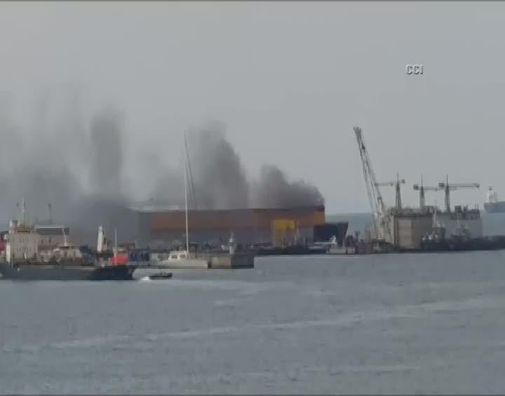 Tuzla'da patlama! Dumanlar yükseliyor!