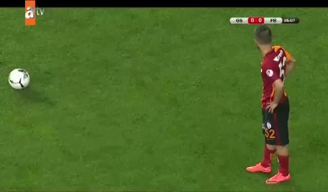 Galatasaray bu pozisyonda başarısız oldu