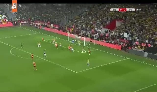 Galatasaray: 1- Fenerbahçe: 0