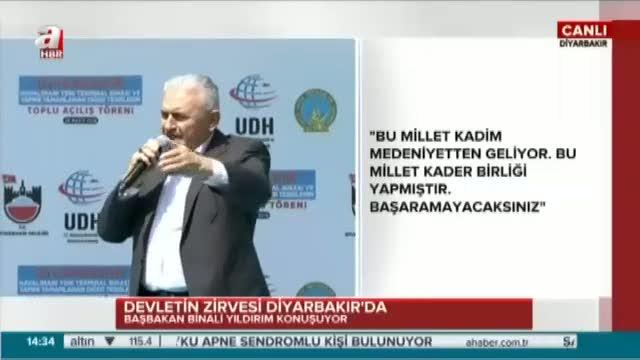 """Başbakan Binali Yıldırım """"Kardeşliğimiz sonsuza kadar sürecek"""""""