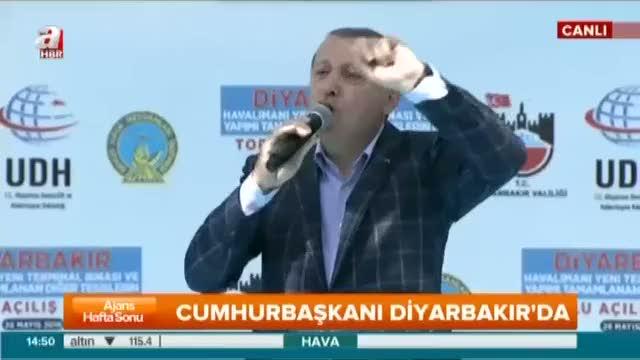 """Cumhurbaşkanı Erdoğan """"Onlar yıkar biz yaparız"""""""