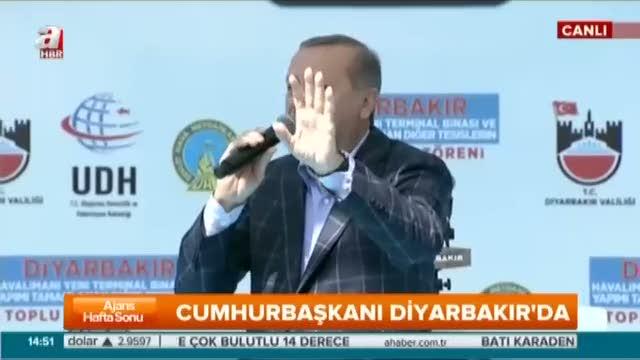 """Cumhurbaşkanı Erdoğan """"Biz sandıkla hareket ediyoruz onlar Kadil'le"""""""