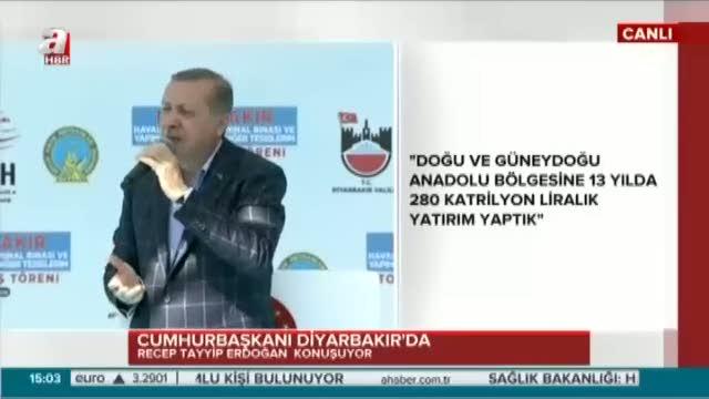 """Cumhurbaşkanı Erdoğan """"Azizul İntikam olan Allah'tır"""""""