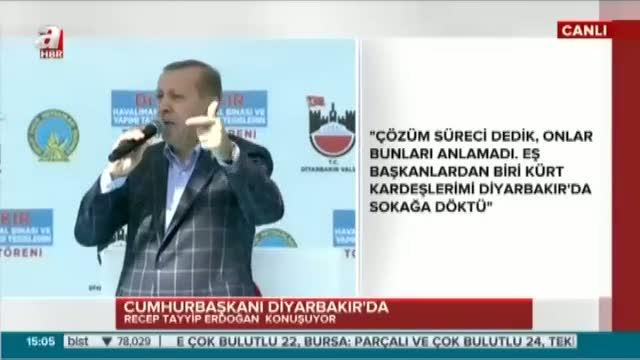 """Cumhurbaşkanı Erdoğan """"ABD'nin PYD'ye desteğini kınıyorum"""""""