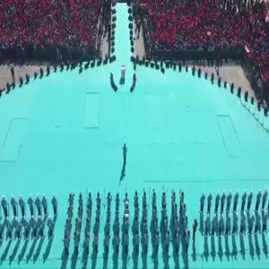 Cumhurbaşkanlığı Muhafız Alayı Yenikapı'da
