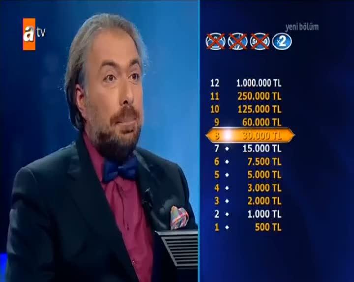Milyoner'de ilginç yarışmacı jokeri olmasına rağmen çekildi!