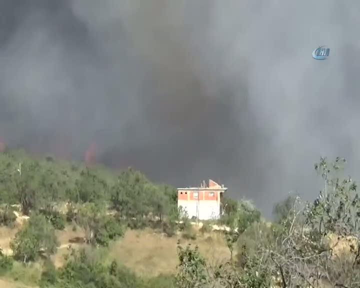 Edi·rne'deki· orman yangını etkisini arttırıyor