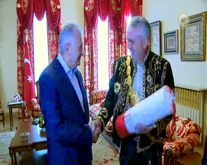 Başbakan Binali Yıldırım Kırkpınar heyetini kabul etti