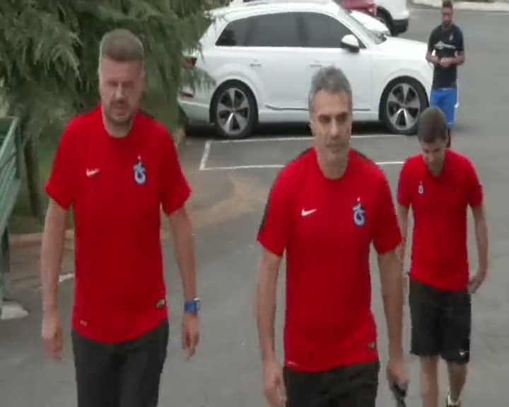 Trabzonspor Ersun Yanal yönetiminde çalıştı