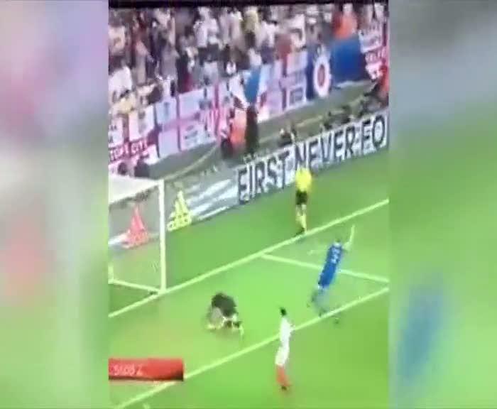 2. gol İzlandalı spikeri çıldırttı