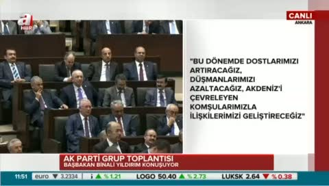 """""""Biz Türkiye olarak güçlü bir AB'den yana olduk"""""""
