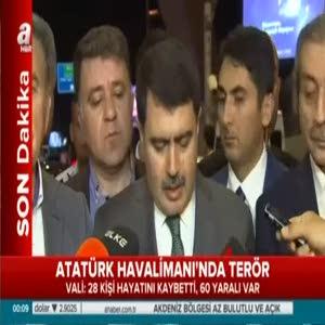İstanbul Valisi Şahin: 28 kişi hayatını kaybetti