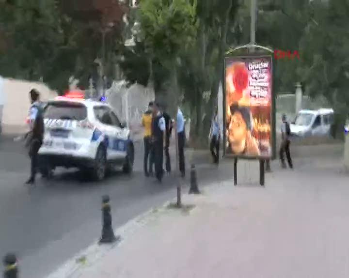 Beşiktaş'ta hırsız polis kovalamacası