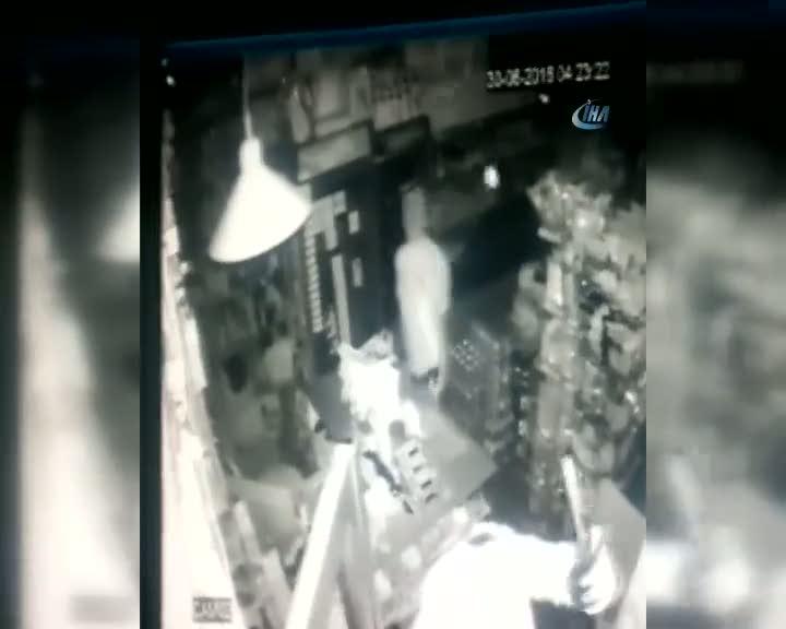 Beşiktaş'ı karıştıran soyguncular kamerada!