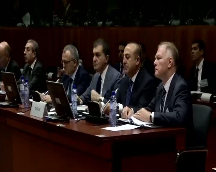 AB - Türkiye hükümetler arası konferansta İstanbul için saygı duruşu