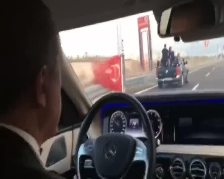 Cumhurbaşkanı Erdoğan Osmangazi Köprüsü'nde Test Sürüşü Yaptı