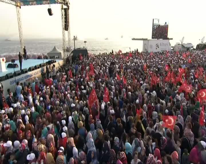 """""""Osmangazi köprüsü bayramın sonuna kadar ücretsiz olacaktır"""""""