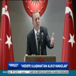 """Cumhurbaşkanı Erdoğan """"Bunun insani, vicdani herhangi bir yanı var mı?"""""""