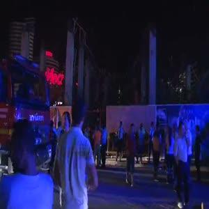 AVM ek bina inşaatında göçük: 7 yaralı