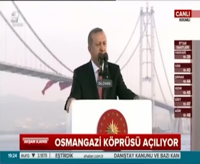 """Cumhurbaşkanı Erdoğan """"Tasmalarını tutan güçler tarafından üzerimize salınmışlar"""""""