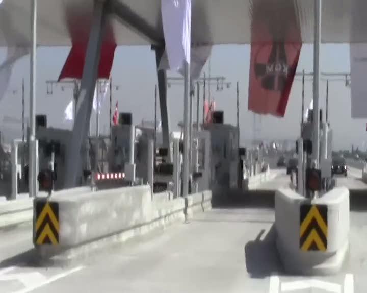 Osmangazi Köprüsü'ne tatilcilerden büyük ilgi
