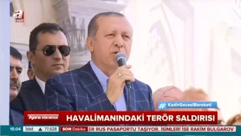 """Cumhurbaşkanı Erdoğan """"Bunların yeri cehennemdir"""""""