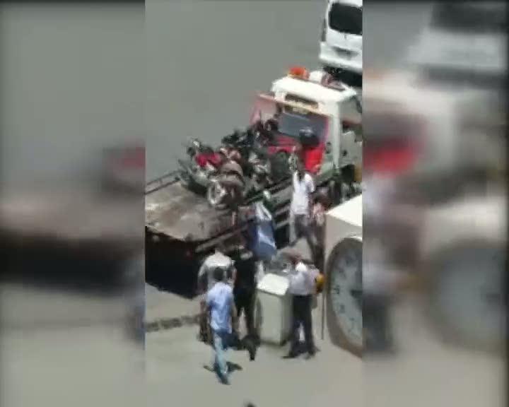 Toplanan motosikletler tartışmalara neden oldu