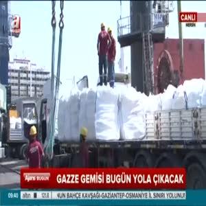 Gazze'ye yardım gemisi yola çıkıyor!
