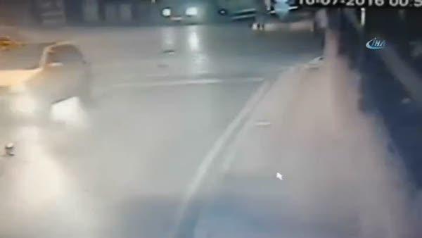 Acıbadem Mahalle Muhtarı darbe girişimi sırasında böyle vuruldu