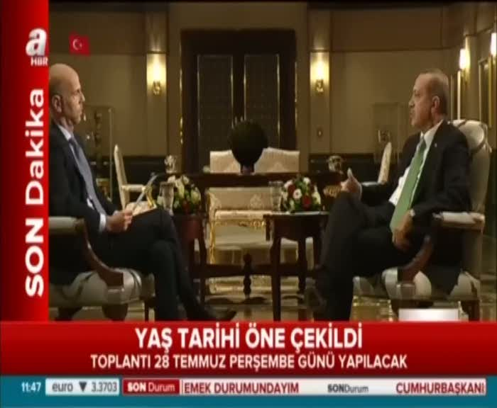 """Cumhurbaşkanı Erdoğan """"AB'nin yanlış tutumlarına devam edeceğine inanıyorum"""""""