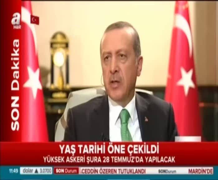 Cumhurbaşkanı Erdoğan'dan Fransız televizyonuna askerlere işkence cevabı!
