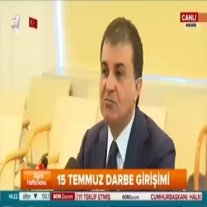 """Bakan Çelik """"Gülen Bin Ladin'den daha tehlikeli tehlikeli"""""""