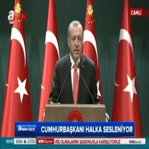 Cumhurbaşkanı Erdoğan: Her fırsatta ülkemizin önünü kesmeye çalışıyorlar
