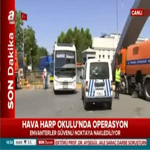 Hava Harp Okulu'nda operasyon!